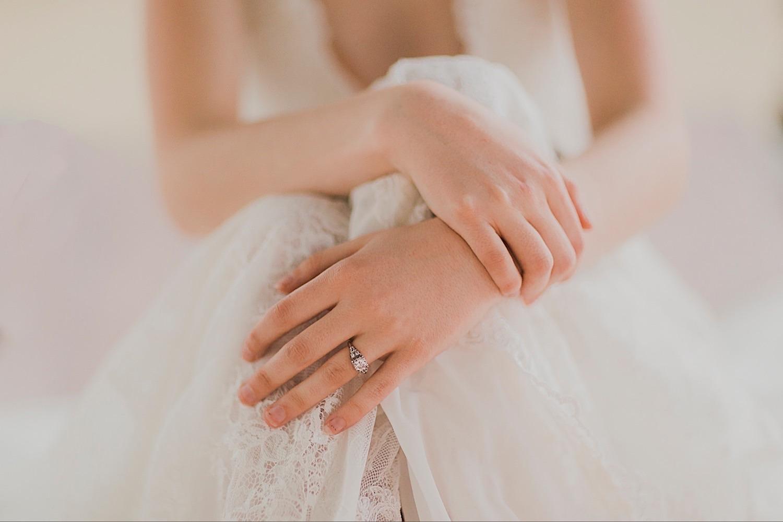 lake tahoe bride hands