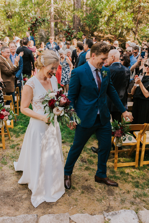 outdoor Yosemite California wedding ceremony
